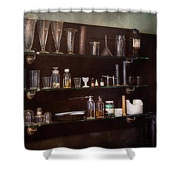 Chemist - The Scientist  Shower Curtain by Mike Savad