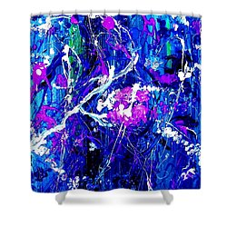 Cherry Blossom Explosion Shower Curtain
