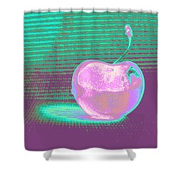 Cherry Pastel Shower Curtain