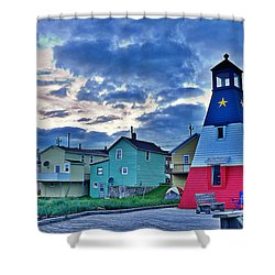 Cheticamp In Cape Breton Nova Scotia Shower Curtain