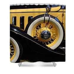 Shower Curtain featuring the photograph Chevrolet 1932 by John Schneider