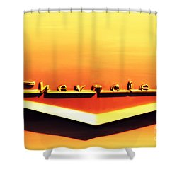Chevrolet Shower Curtain by Susanne Van Hulst