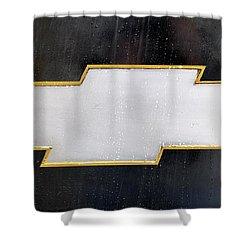 Chevy Bowtie Shower Curtain
