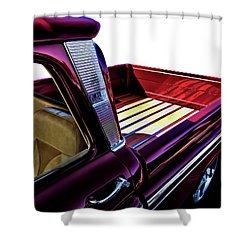 Chevy Custom Truckbed Shower Curtain