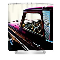 Chevy Pickup Shower Curtain by Douglas Pittman
