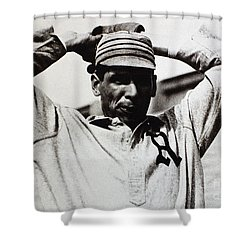Chief Bender (1884-1954) Shower Curtain by Granger