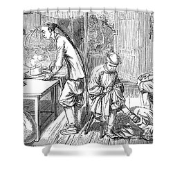 Chinese Immigrants, 1855 Shower Curtain by Granger