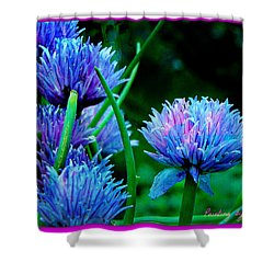 Chives For You Shower Curtain