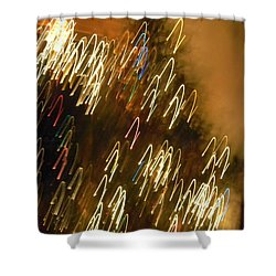 Christmas Card - Jingle Bells Shower Curtain