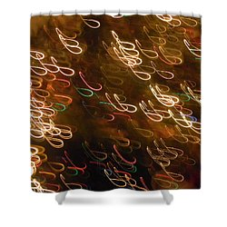 Christmas Card - The Manger Shower Curtain