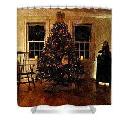 Christmas Past Cpwc Shower Curtain