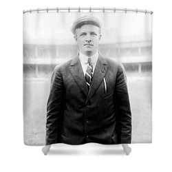 Christy Mathewson - Major League Baseball Player Shower Curtain by International  Images