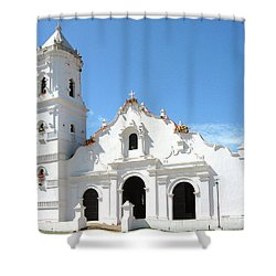 Church Of Nata De Los Caballeros Shower Curtain
