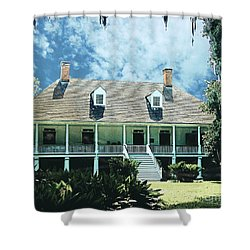 Circa 1750 Parlange Plantation New Roads La Shower Curtain