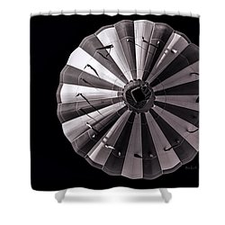 Circle Shower Curtain by Bob Orsillo