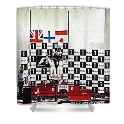 Circuito De Jerez 1997 Shower Curtain by Juergen Weiss