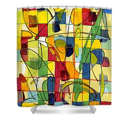 Circus Partners Shower Curtain