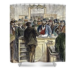 Citizenship, Nyc, 1868 Shower Curtain by Granger