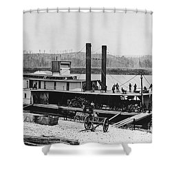 Civil War: Chickamauga Shower Curtain by Granger