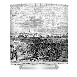 Civil War: Savannah, 1863 Shower Curtain by Granger