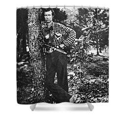 Civil War: Soldier, 1861 Shower Curtain by Granger