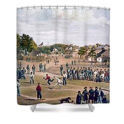 Civil War: Union Prisoners Shower Curtain by Granger