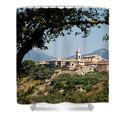 Shower Curtain featuring the photograph Civitavecchia by Dany Lison