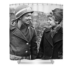 Clare Boothe Luce (1903-1987) Shower Curtain by Granger