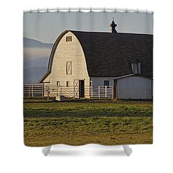 Classic Barn Near Grants Pass Shower Curtain by Mick Anderson