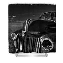 Classic Rust Shower Curtain