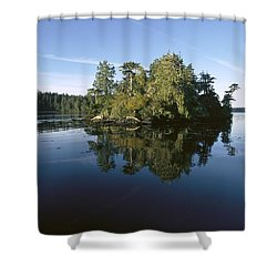 Clayoquot Sound Vancouver Island Shower Curtain by Flip Nicklin