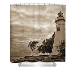 Clearing Storm Shower Curtain by Dale Kincaid