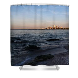 Cleveland From The Shadows Shower Curtain