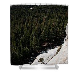Climber In Yosemite Shower Curtain
