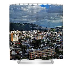 Close Of Business - Quito - Ecuador Shower Curtain