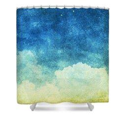 Cloud And Sky Shower Curtain by Setsiri Silapasuwanchai
