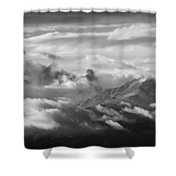 Cloud Art Shower Curtain