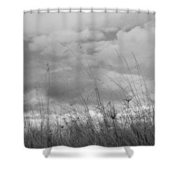 Shower Curtain featuring the photograph Cloud Watching by Kathleen Grace