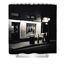 Clover Grill New Orleans Shower Curtain