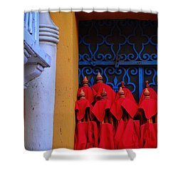 Club Colombia Shower Curtain by Skip Hunt
