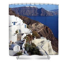 Shower Curtain featuring the photograph Coast by Milena Boeva