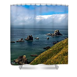 Coastal Look Shower Curtain by Robert Bales