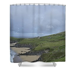 Shower Curtain featuring the photograph Coastline  by Hugh Smith