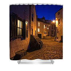 Cobblestone Road, North Yorkshire Shower Curtain by John Short