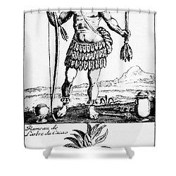 Cocoa, 1685 Shower Curtain by Granger