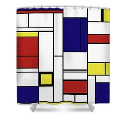 Cognition  Shower Curtain by Richard Rizzo