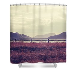 Coin De Pays Shower Curtain by Aimelle
