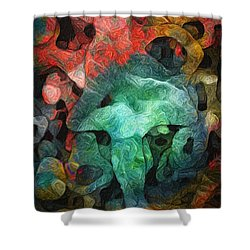 Collecting Shower Curtain by Jack Zulli