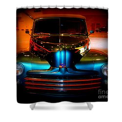 Collector Car Shower Curtain by Susanne Van Hulst