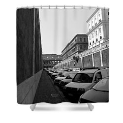 Shower Curtain featuring the photograph Colliseum by Laurel Best